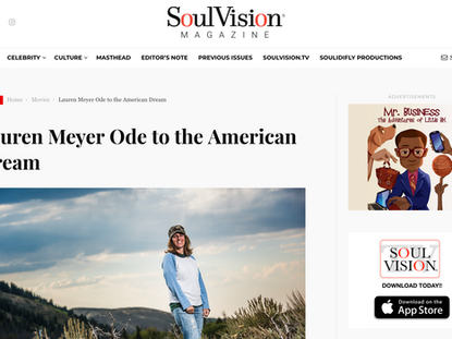 Featured in SoulVision Magazine (April 2020)