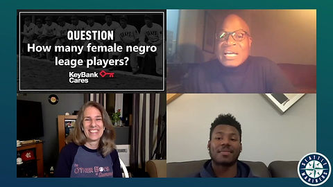 2020 AL ROY Kyle Lewis joins Lauren Meyer and Dave Sims for a community program in the Pacific NW.