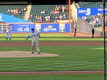 From the Mound at Citi Field