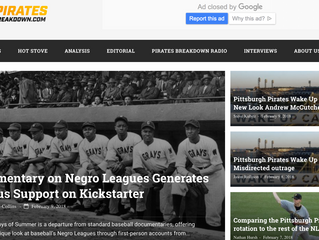 Pittsburgh Pirates Blog features the film