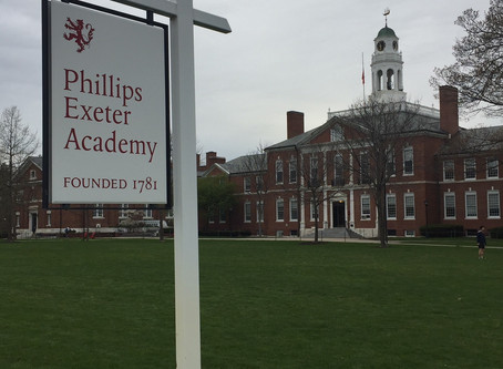 Phillips Exeter Academy uses The Other Boys of Summer to bring the community together and Inspire.