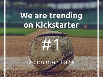We are trending on Kickstarter