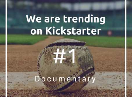 We are trending on Kickstarter