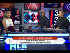 "Director Returns to MLB Network's ""Hot Stove"""