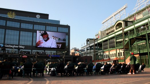 Community screening of The Other Boys of Summer at Wrigley Field