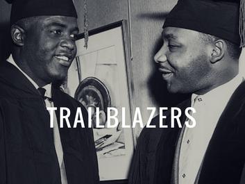Jackie Robinson and MLK Jr.  #heroes