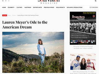 Director featured in SoulVision Magazine