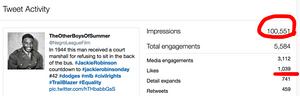 Jackie Robinson Tweet