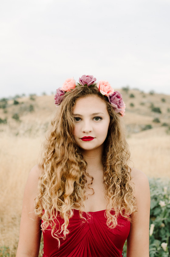 """HANNAH - """"Dancing Upon the Desert"""" - A Styled Portrait Session (Part 1)"""