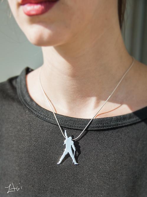 the Freddie Mercury pendant