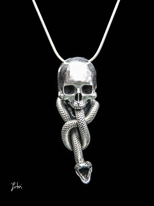 the Death Eater Tattoo pendant