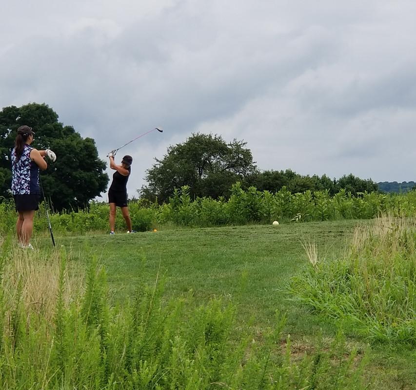6 여성분과 친선 골프 라운딩