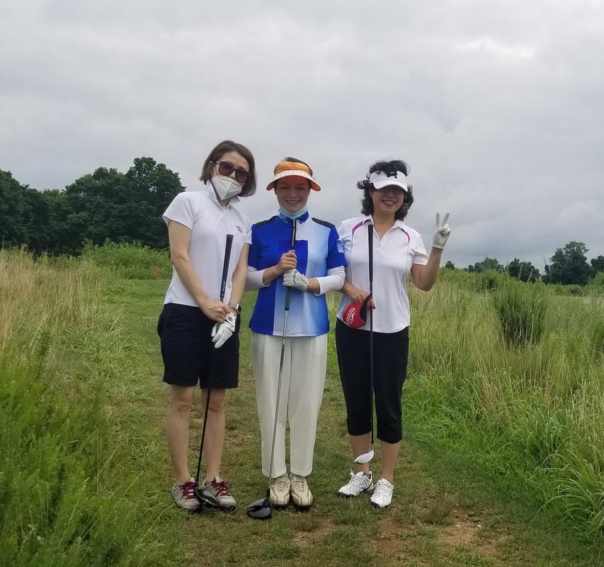 4 여성분과 친선 골프 라운딩