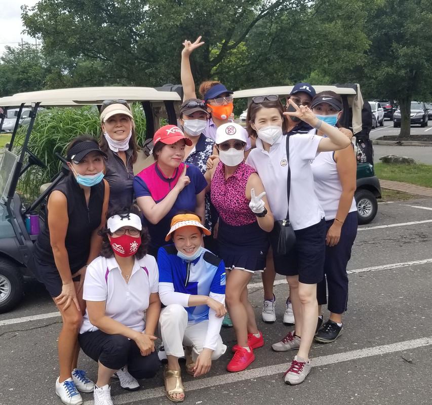 여성분과 친선 골프 라운딩