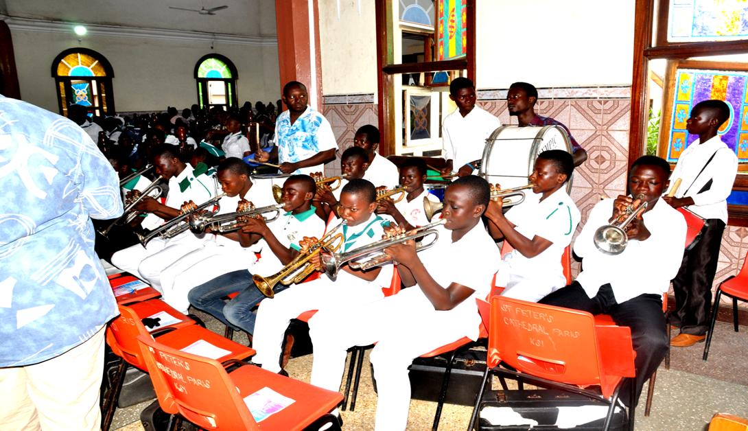 Band Instruments  CATHOLIC YOUTH ORGANIZATION - Sept 2014