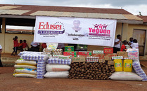 Edusei Foundation In Collaboration With Yeguaa Foundation Donates To The Bekwai Infirmary