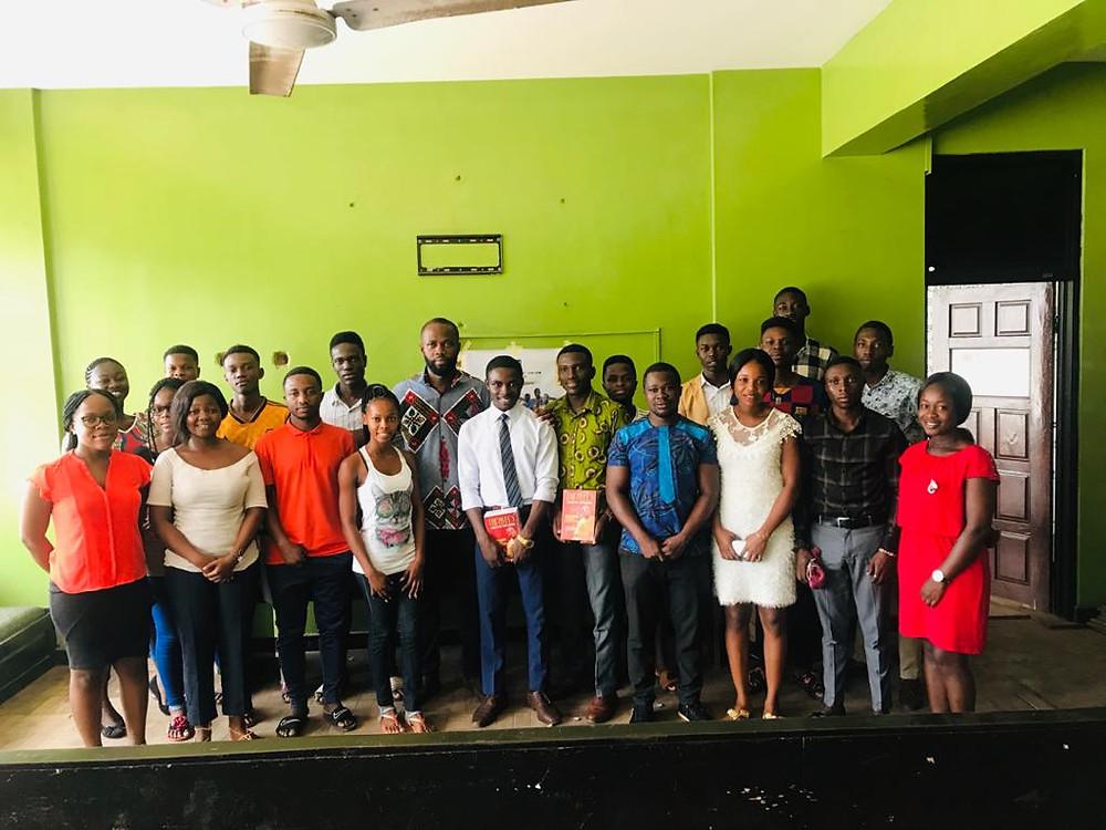 Presentation to University of Ghana Branch of ASU