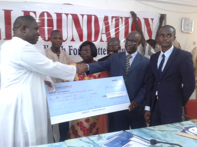 Edusei Foundation Donates to Catholic Relief Services