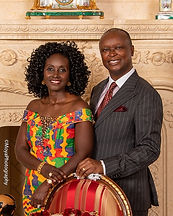 Dr. and Mrs. Bawuah Edusei