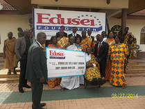 Edusei Foundation Donates To Otumfuo Education Fund