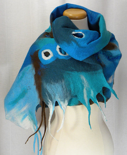 Bleu scarf