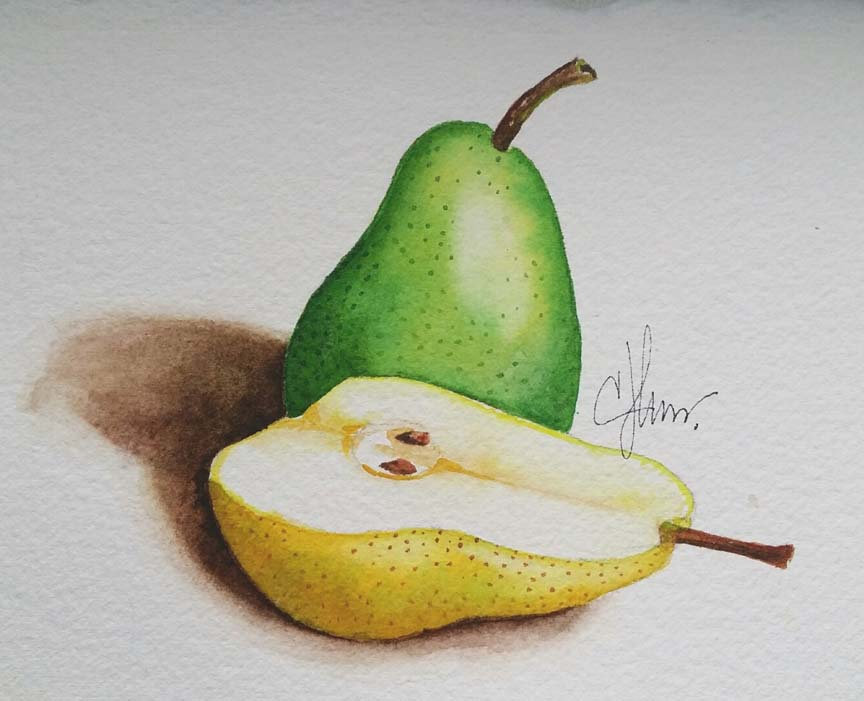 Learn to paint in watercolor