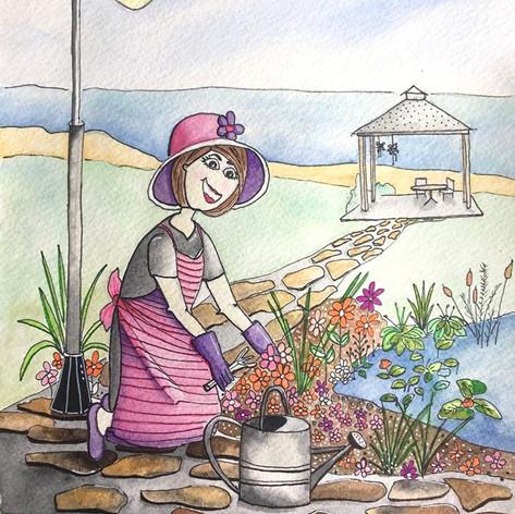 Perfect gardening day