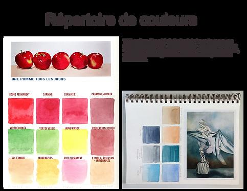 Répertoire de couleur
