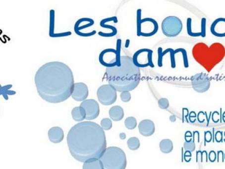 Collecte pour LES BOUCHONS D'AMOUR