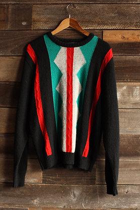 '80s Pendleton Southwestern Sweater - Men's Large