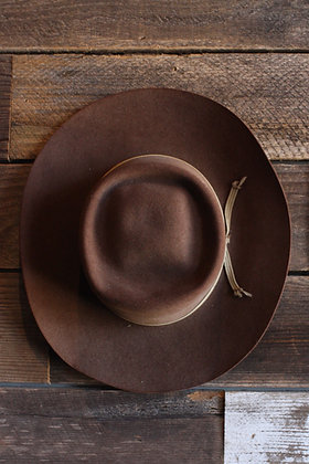 Vintage 7X Beaver Cowboy Hat | 7