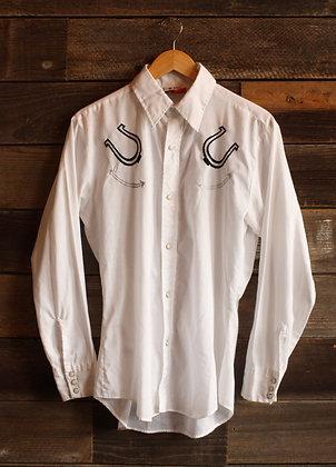 Vintage Cowboy Joe Spur Pearl Snap - Men's Medium