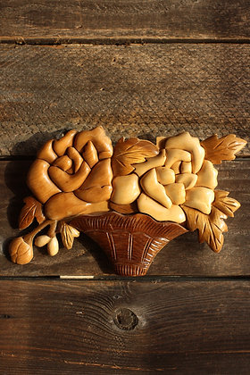 Wooden Bouquet Wall Hanging
