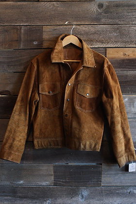 RARE '60s Reversible Leather & Suede Jacket | Men's M