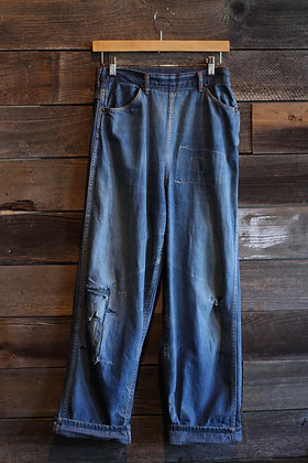 "'50s Riveted Ranchcraft Hip Zips - 28"" waist"