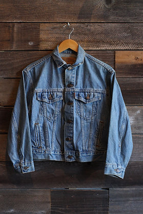 Vintage Orange Tab Levi's Denim Jacket | Women's S