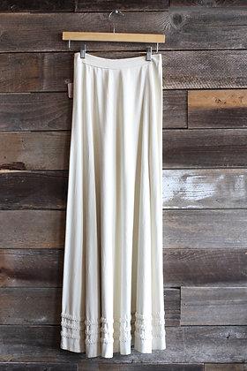 Vintage Victorian Style Full Length Skirt | S