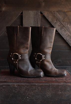 Michael Kors Heeled Harness Boots - 8