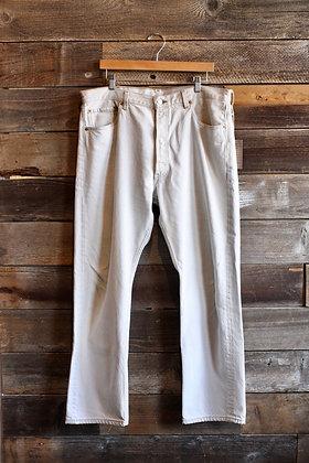 Vintage Ivory USA Levi's 501 Jeans | 38x31