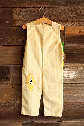 '60s Deadstock Yellow Jumpsuit - Kid's 3