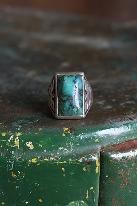 Bell Trading Post Turquoise Thunderbird Ring | 9.5