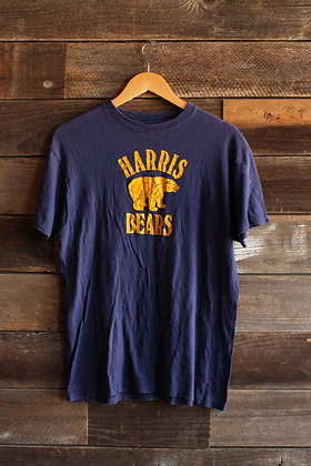'70s Harris Bears Navy & Gold Tee - Men's Large