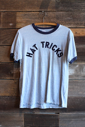 '70s Hat Tricks Ringer Tee | Men's L/ Women's XL