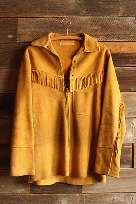 Glenwood Taxidermy Suede Fringe Jacket - Men's Large