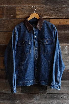 Pendleton Flannel Lined Denim Jacket   Men's L