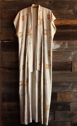 Vintage Sleeveless Kimono - One Size