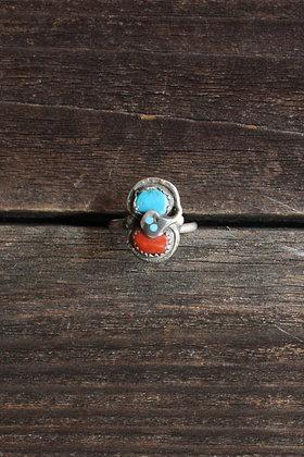 Vintage Effie Snake Ring | 7