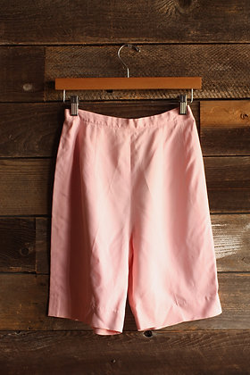 '60s Pastel Pink High Waisted Shorts - XS/S