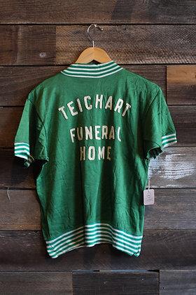 '40s Felco 1/4 Zip Funeral Home Jersey   M