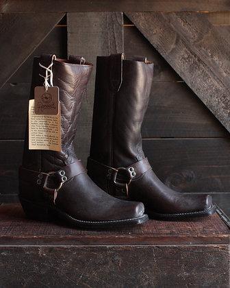 RARE Deadstock Cordoba Shell Horsehide Harness Boots - 5.5/7